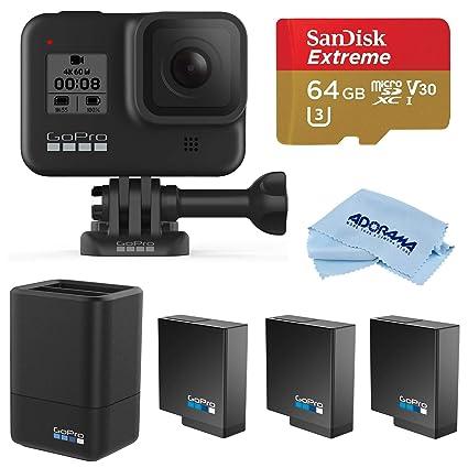 Amazon.com: GoPro HERO8 Black, Waterproof Digital Action ...