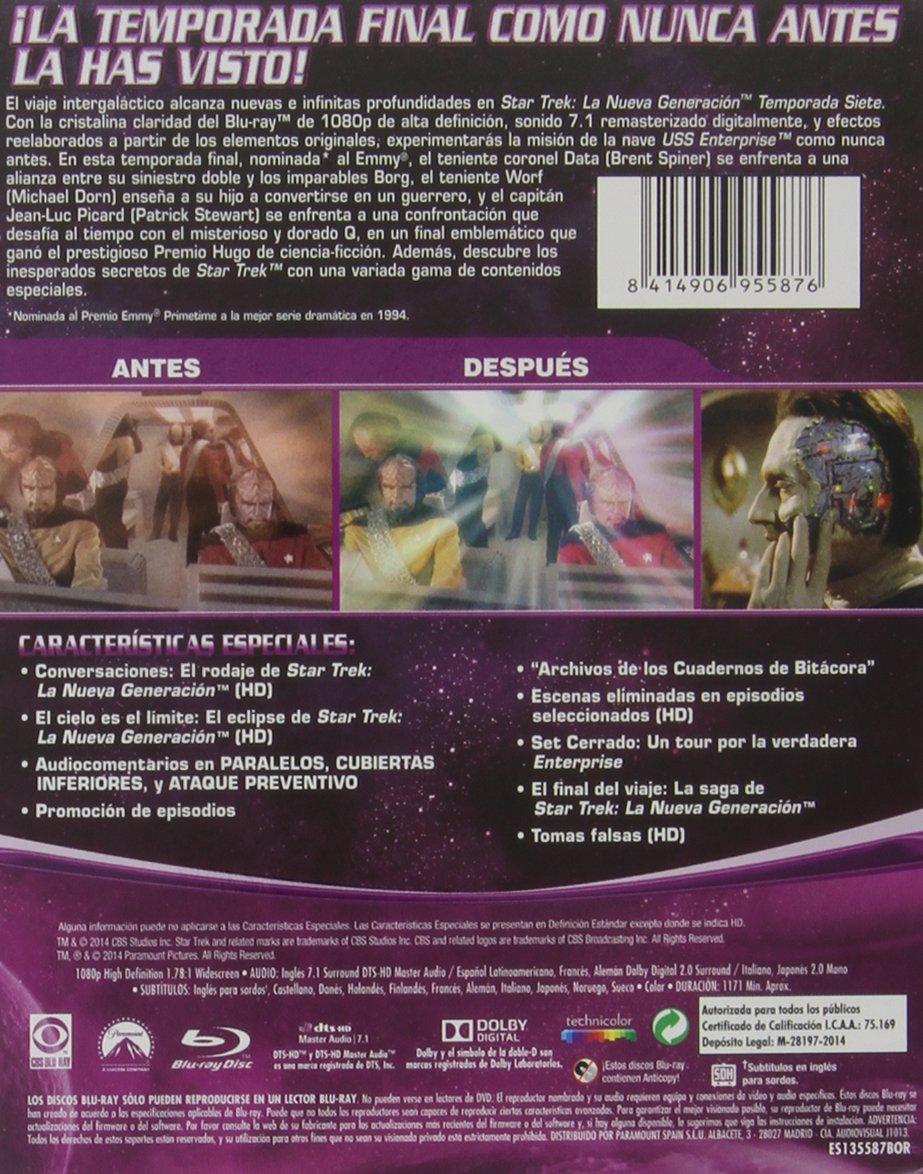 Star Trek: La Nueva Generación - Temporada 7 Blu-ray: Amazon.es ...