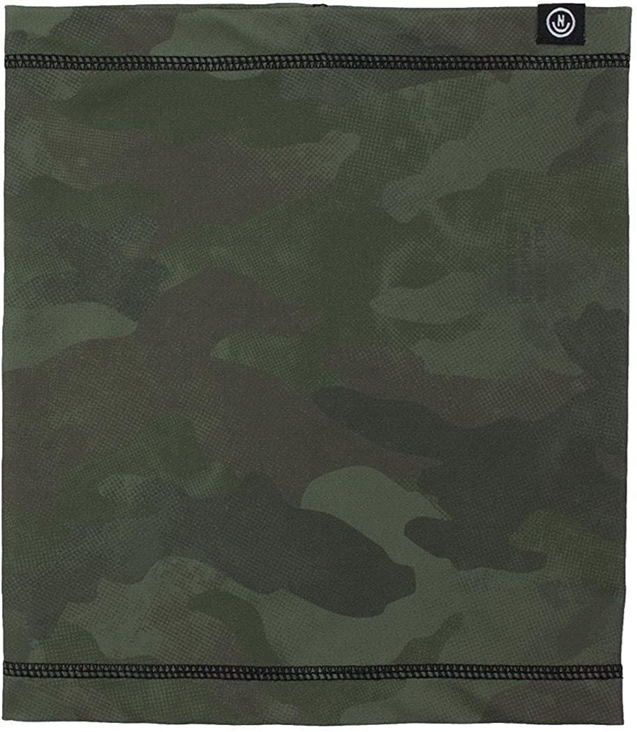 neff Men's Neff Techy Tube Neck Gaiter - Snowboard Facemask for Winter camo wash One Size Neff Young Men's 17F19007