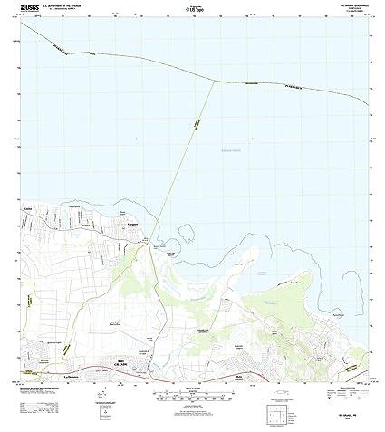 Amazoncom Puerto Rico Maps 2013 Rio Grande Pr Usgs Historical - Rio-grande-on-us-map