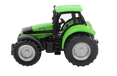 SIKU DEUTZ-FAHR Agrotron Preassembled Tractor - modelos de vehículos de tierra (Preassembled,