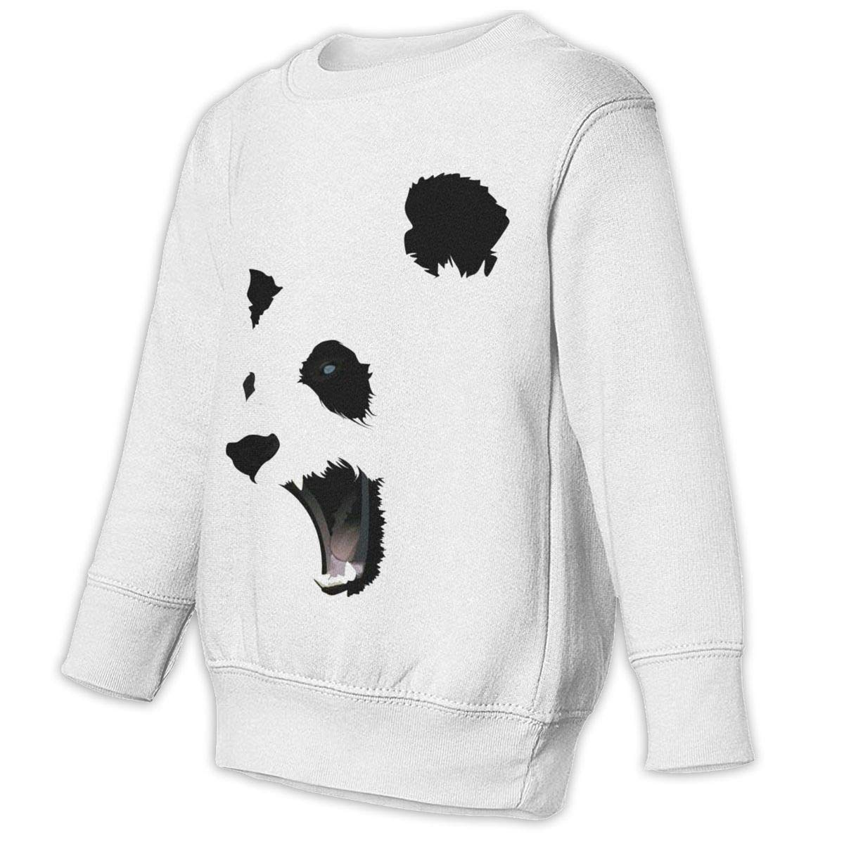 GHYNJUM Panda Kids Unisex Cotton Long Sleeve Round Neck Pullover