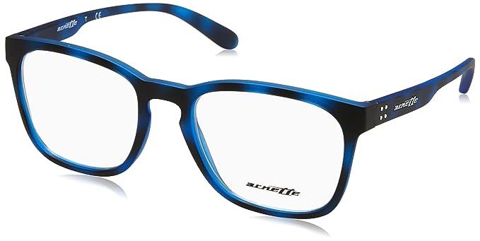 Arnette Lipslides, Monturas de Gafas para Hombre, Matte Blue Havana, 53