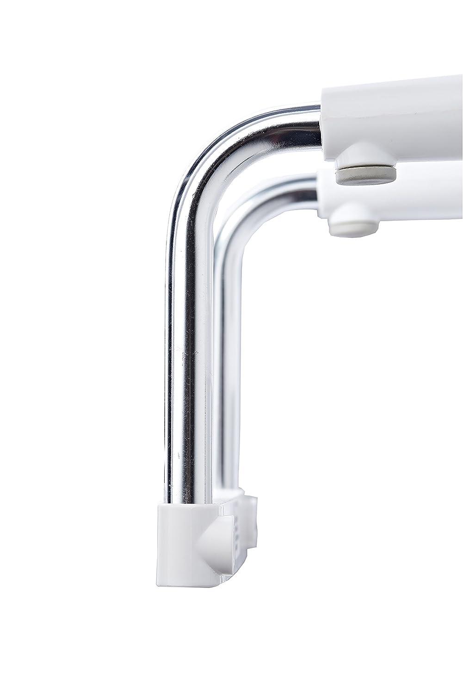 58/x 25/cm Nero Ridder a0230010/della Vasca da Bagno Accesso Aiuto Premium Alluminio//Poliuretano