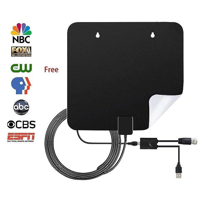 Review TV Antenna Indoor 60Miles