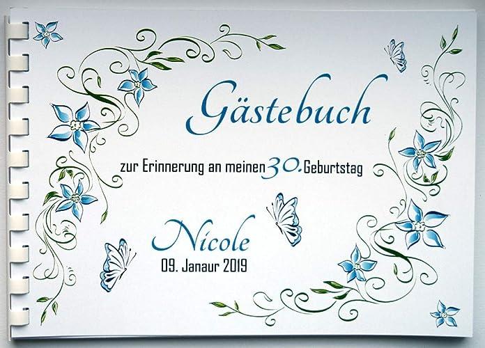 Gästebuch Personalisiert Für Geburtstag Konfirmation