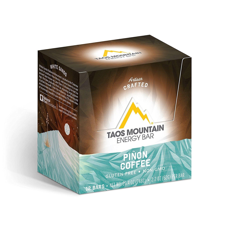 Taos Mountain Energy Bar (2.2 Ounce, 12 Count) (Pinon Coffee)