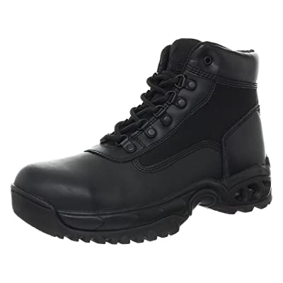 """Ridge Footwear 8003ST Men's 6"""" Air-Tac Leather Steel Toe Tactical Work Boot 