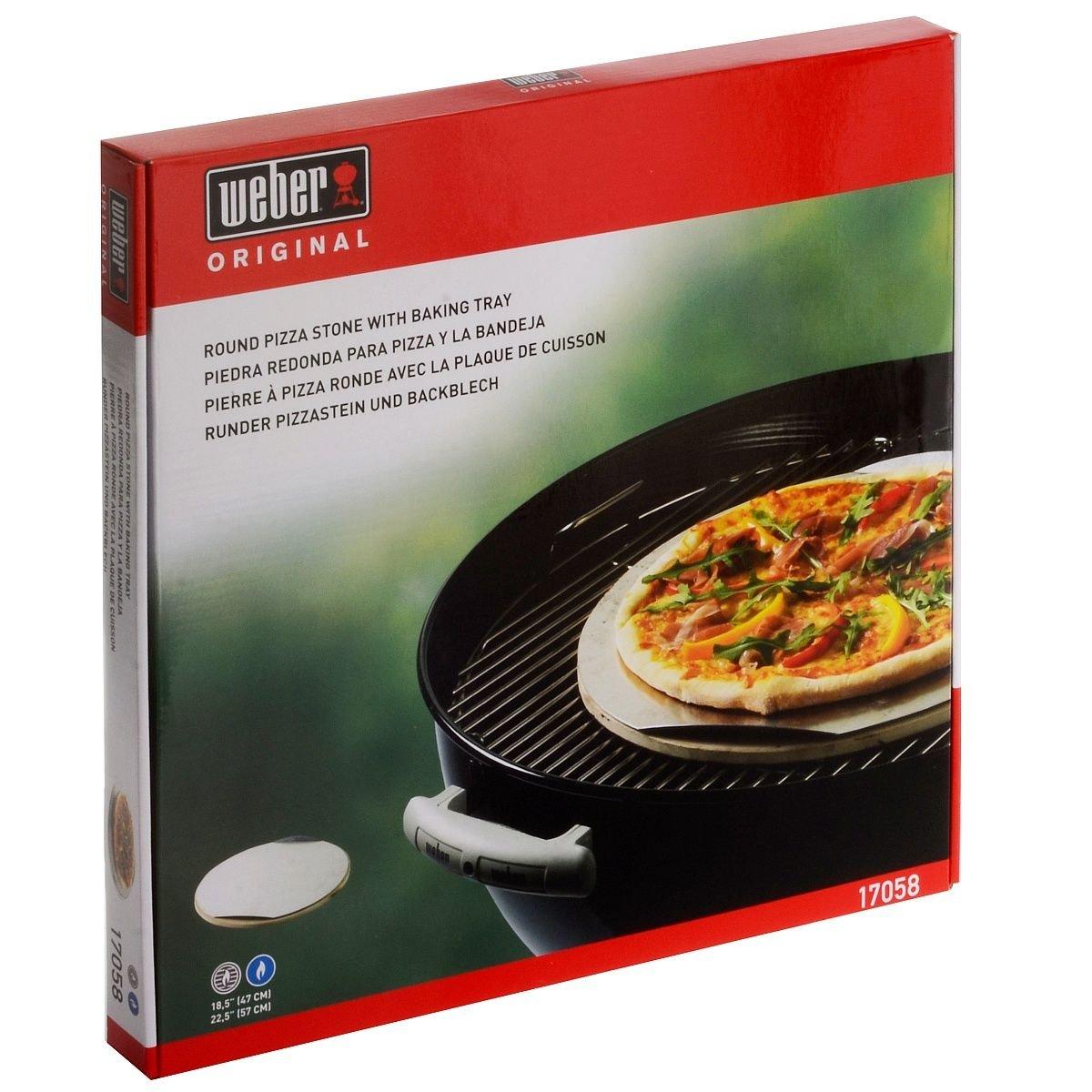 Weber 17058 - Piedra Para Pizza Weber: Amazon.es: Jardín
