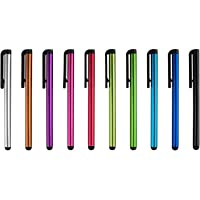 10x Original Universal Capacitive Stylus Touchscreen Pen for ipad 1 2, 3 iPhone 5, 4s , HTC, Tablet pc, Asus Tablets, Advent, Samsung Galaxy, Mobile Phones, PC, Blackberry Playbook Phones, Android and all other Capacitive Screens Devices