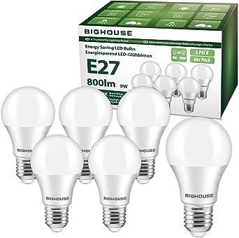 DEL 5 W équivalent 40 W Bougie Traditionnel Ampoule Lampe Blanc Chaud E27 Vis en