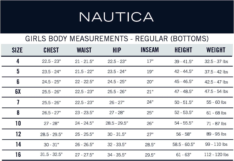 Nautica Girls School Uniform Quilted Hoodie Sweater