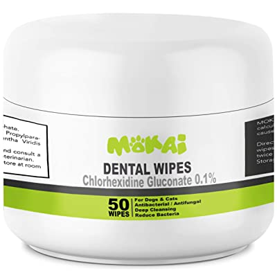 MOKAI Dental Wipes
