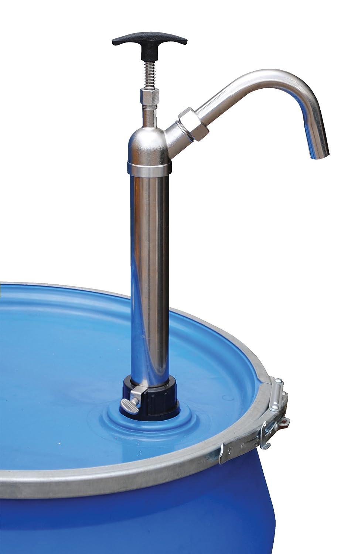 Amazon.com: vestil ldp-ss-316 Manual cubeta de tambor y ...