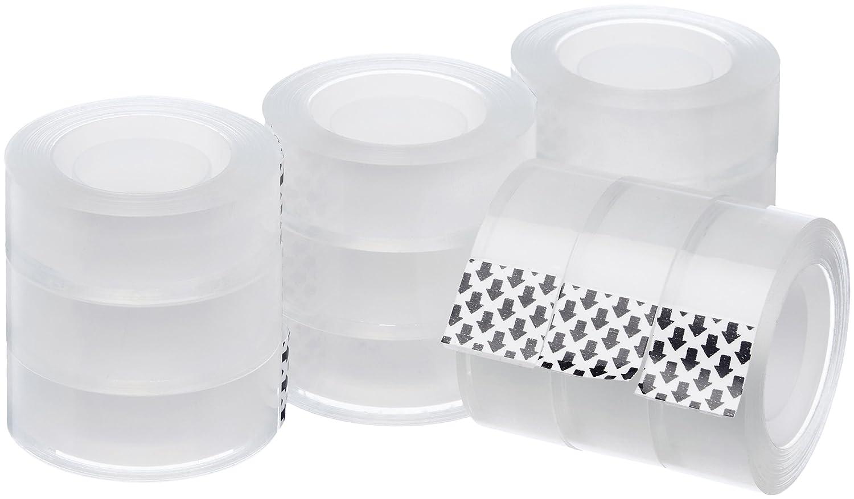 AmazonBasics Transparent Tape Refill - 12-Pack SC34-1000X12