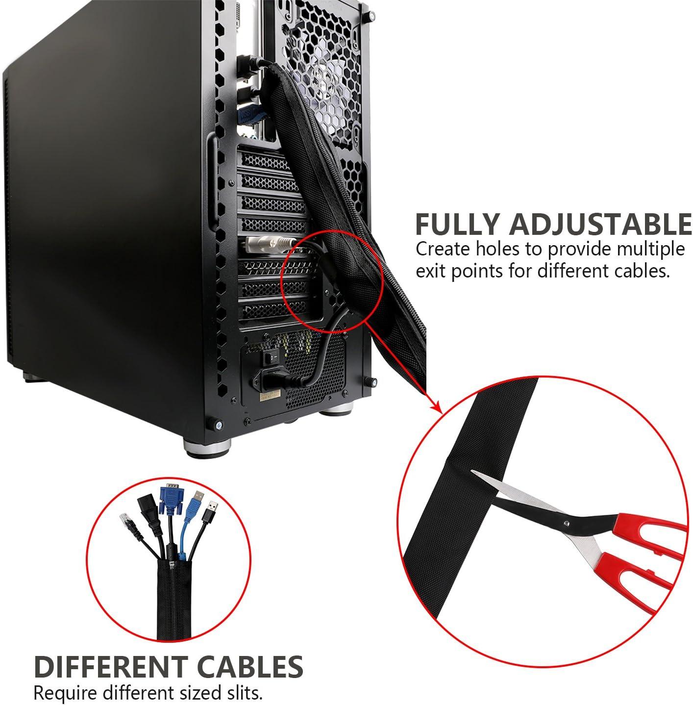 Hikig Organizador de cables de 4 piezas: Amazon.es: Electrónica