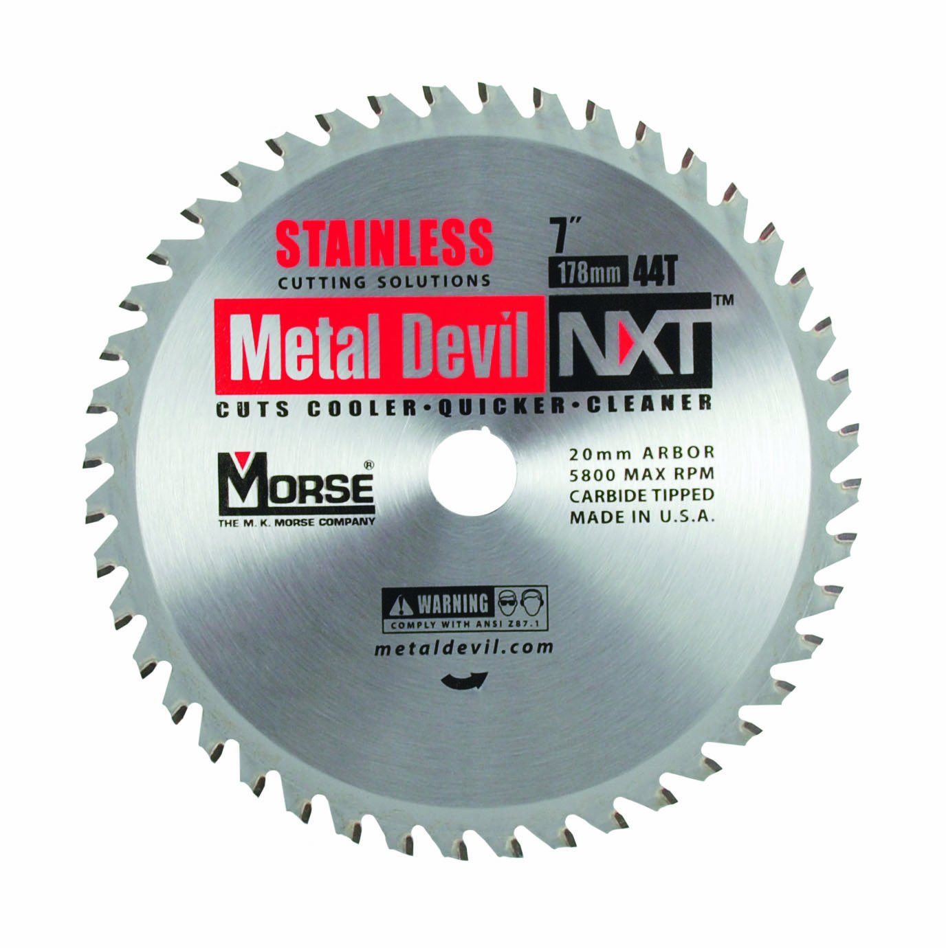 Disco Sierra MK MORSE CSM744NSSC Metal Devil NXT 7i Diámet