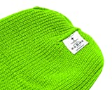 TopHeadwear 3 Hole Ski Mask Balaclava, Neon Green