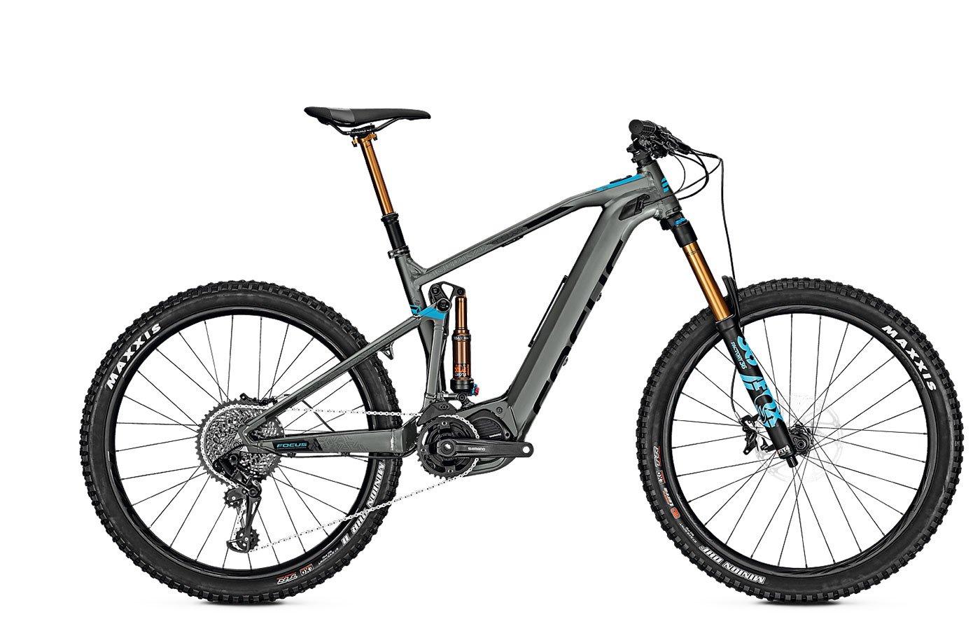 Focus Hombre S de Mountain Bike 27.5 pulgadas Fully Modelo Sam² Pro (2018) - 8 de circuito de cadena con cambio de marcha, Gris, color gris, ...