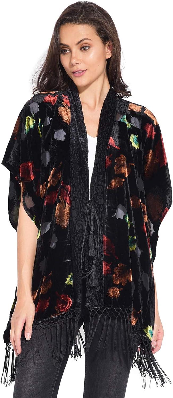 101 idees Kimono en Velours imprim/é