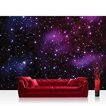 Vlies Fototapete X Cm Premium Plus Wand Foto Tapete Wand Bild Vliestapete Sternenhimmel Tapete Galaxy