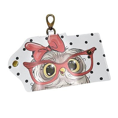 Amazon.com: KEAKIA - Llavero con diseño de búho y gafas, de ...