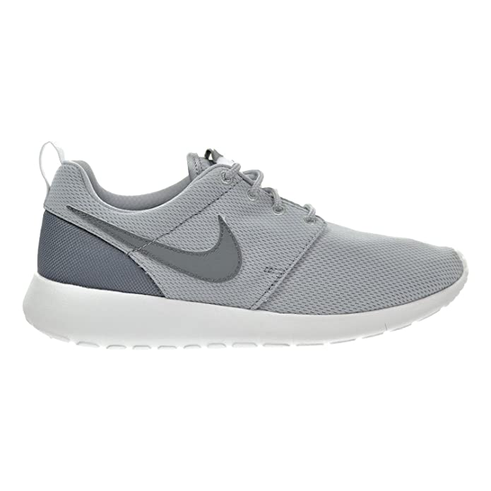 new arrival b01b3 771c4 Amazon.com   Nike Roshe One (GS) Big Kid s Shoes Wolf Grey Cool Grey White  599728-028 (7 M US)   Sneakers