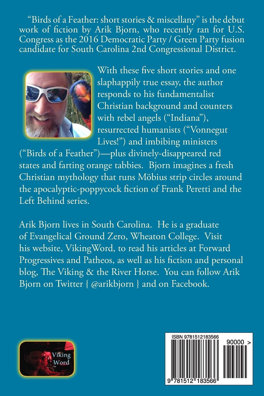 b70463d5777 Birds of a Feather  short stories   miscellany  Arik Bjorn  9781512183566   Amazon.com  Books