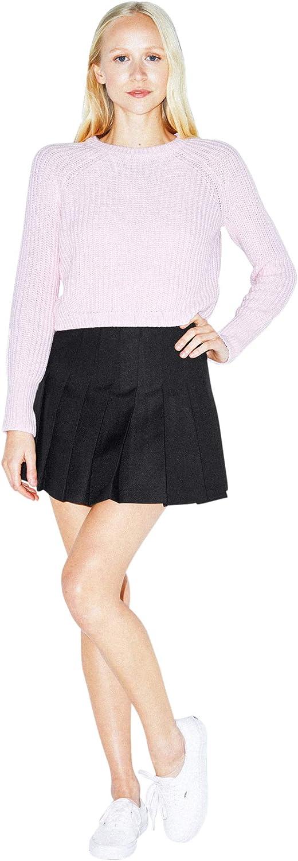 American Apparel Womens Gabardine Tennis Skirt Tennis Skirt