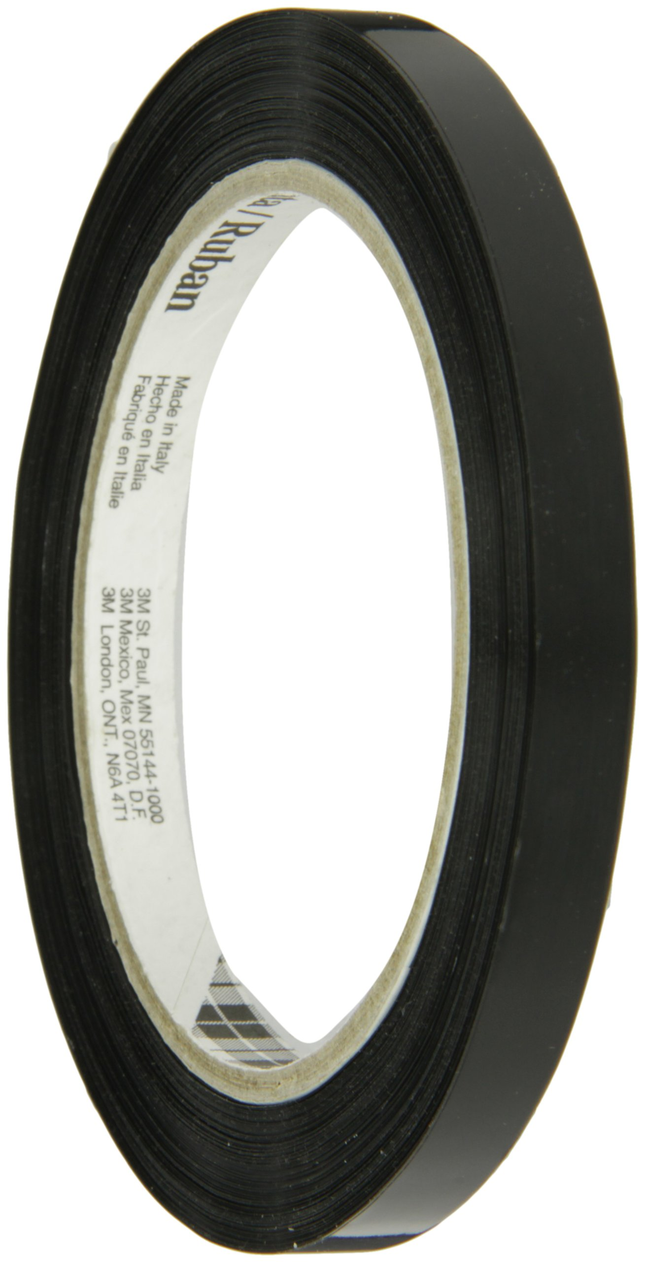 Tartan Strapping Tape 860 Black, 9 mm x 55 m (Case of 192)