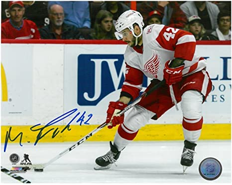 Image Unavailable. Image not available for. Color  MARTIN FRK AUTOGRAPHED  DETROIT RED WINGS 8X10 PHOTO  2 863fba1e1