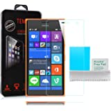 Nokia Lumia 730 - Tempered Glass Screen Protector With 9H Hardness and Easy Bubble-Free Installation by Accessories Collection
