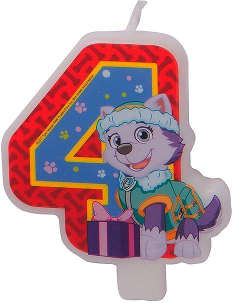 Decoración para Tarta con Diseño de la Patrulla Canina de 4 ...