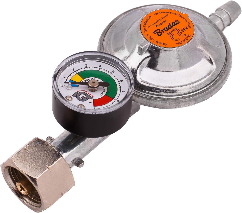 REGULADOR DE GAS BUTANO PROPANO 37 mbar, 1, 5 kg/h CON ...
