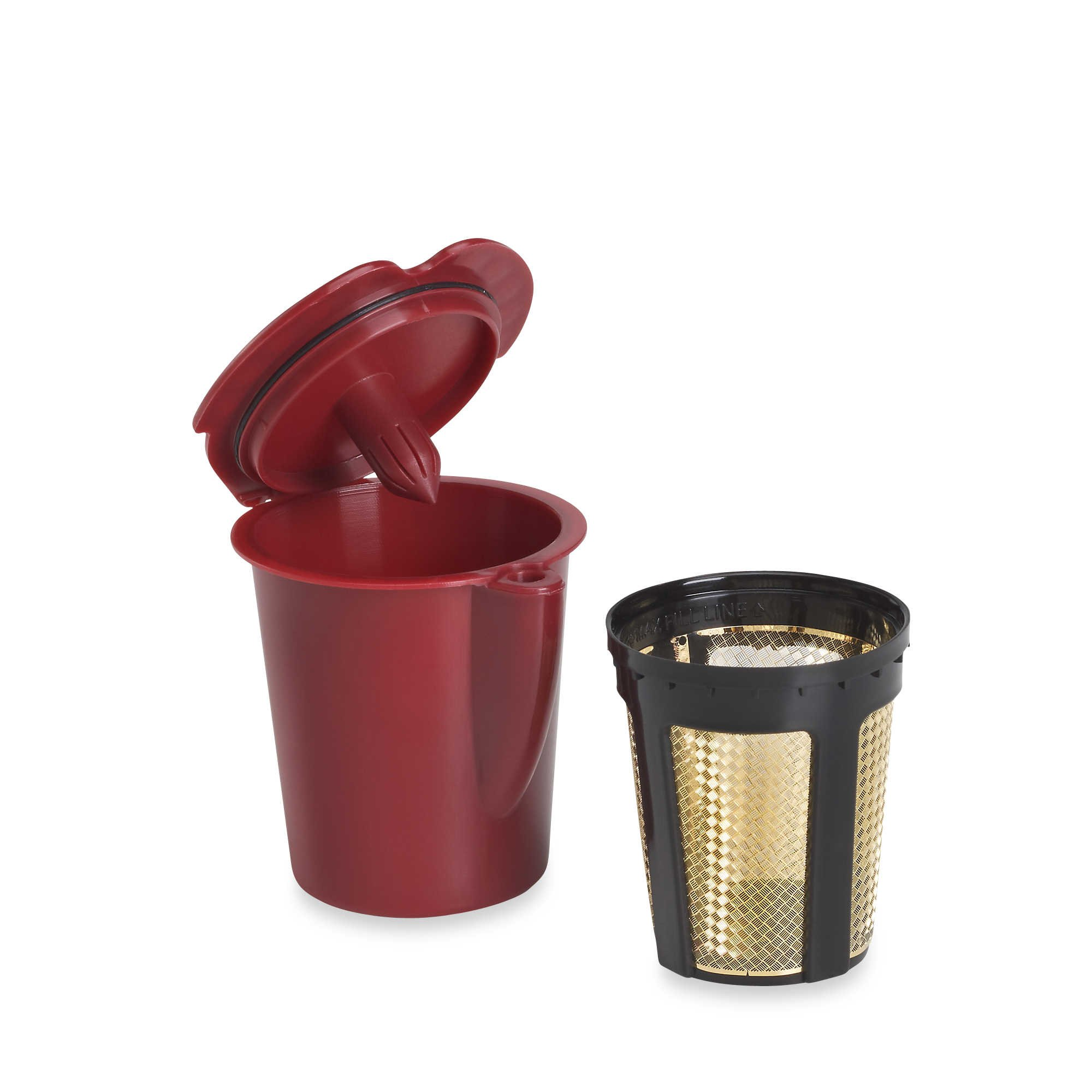 Vue Bathroom Accessories: Amazon.com : Solofill V1 GOLD CUP 24K Plated Refillable