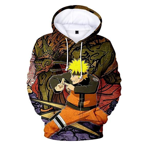 2018 Naruto 3D Druck Damen Herren Kapuzenpullover Hoodies