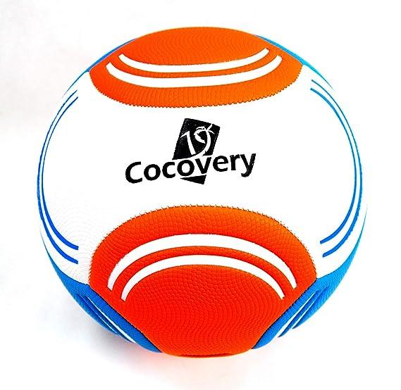 Balón Futbol para Playa-Granulado-Cocovery19 (marrón): Amazon.es ...