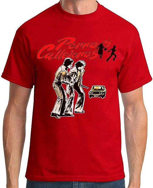 Desconocido 35mm - Camiseta Hombre Perros Callejeros - Torete - Vaquilla - Cine Kinki