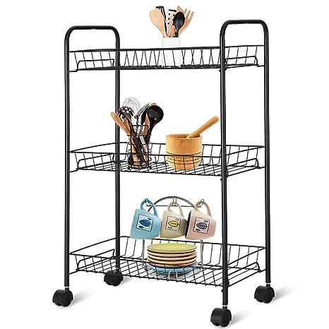 Amazon.com: Giantex cestas de alambre malla para ruedas de ...