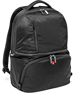 a2dcef9467 Manfrotto MB MA-BP-TRV Advanced Travel Backpack - Black  Amazon.co ...