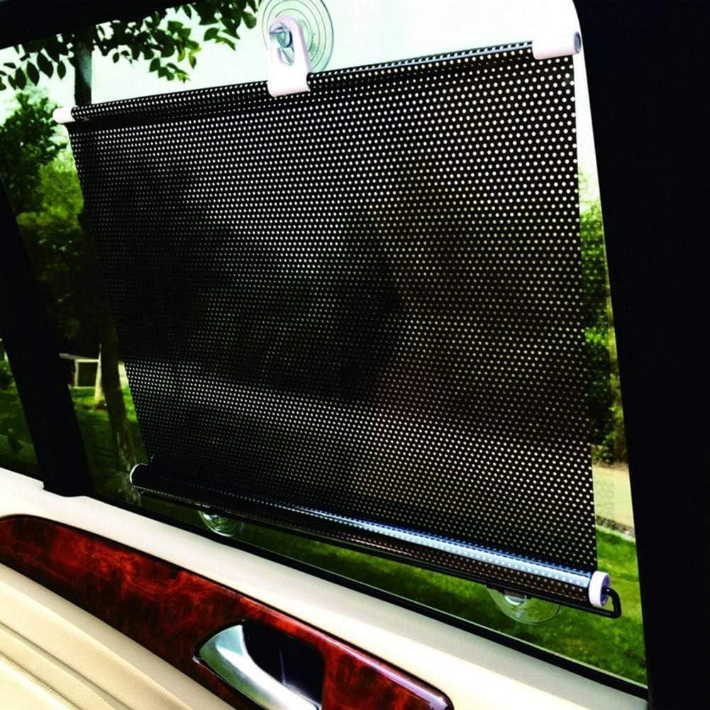 Wz Coche Parasol Universal Retr/áctil Cortina Ventana Roller Sun Shade Ciegos Protector De Enrollar UV//Defensa Sol