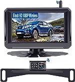 Rohent R3 HD 1080P Digital Signal Wireless Backup Camera 5'' Monitor