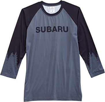 Large SUBARU Official Mountain Bike Stripe Tee T Shirt Impreza Sti WRX Legacy Outback Forester