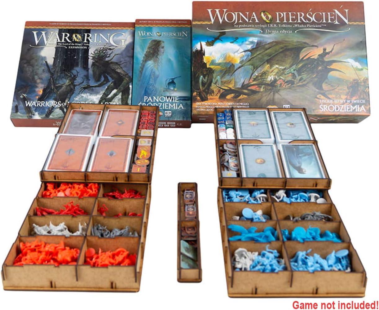 docsmagic.de Organizer Insert for War of The Ring 2nd Edition - Box Encarte: Amazon.es: Juguetes y juegos