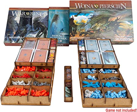 docsmagic.de Organizer Insert for War of The Ring 2nd Edition - Box Encarte: Amazon.es: Juguetes y juegos
