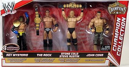 Mattel WWE Wrestling Exclusive Champions Action Figure Kofi Kingston Tag Team Championship Belt Mattel Toys