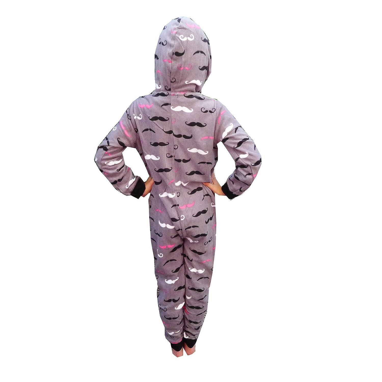 Infantil con forma de diseño de bigote Nifty ropa de descanso para niñas todo en pijama Pelele para bebé pijama de una pieza: Amazon.es: Ropa y accesorios