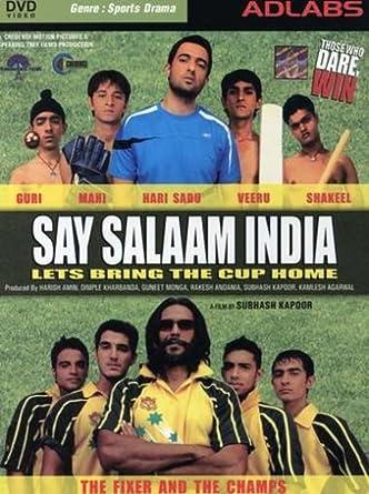 Amazoncom Say Salaam India 2007 Hindi Film Bollywood Movie