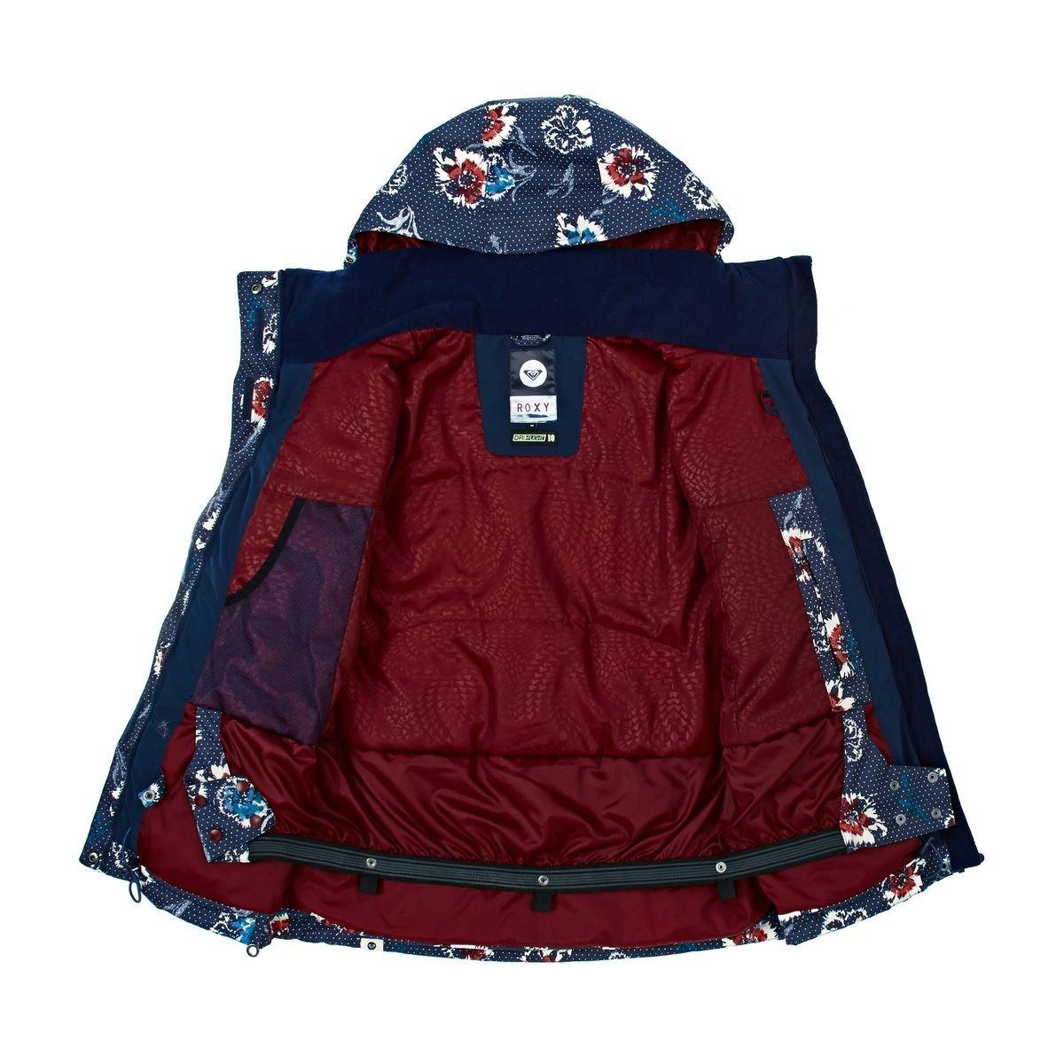 Roxy Jetty chaqueta de la mujer, Peacoat, XL: Amazon.es: Deportes y aire libre