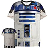 Men's Star Wars R2-D2 Droid Costume All-Over T-Shirt